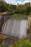 Small hydroelectric power station. In the hinterland of Bali, Indonesia Royalty Free Stock Images