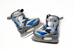 Small ice skates Stock Photo