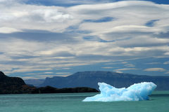 Small iceberg on a lake in Patagonia Stock Photos