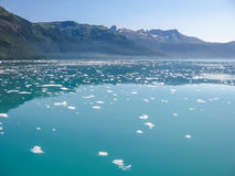 Prince William Sound Glacier, Alaska, Cruise View  Royalty Free Stock Images