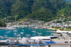 Small idyllic yacht harbor Stock Photography