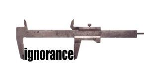 Small ignorance Royalty Free Stock Photo