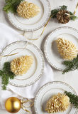 Small individual cake Pine cone Royalty Free Stock Images