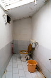 Small indoor washroom to promote hygiene Stock Photography