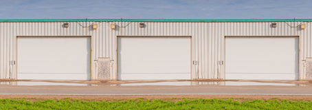 Small industrial warehouse Stock Image