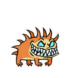Small infernal dog. vector illustration Stock Photos
