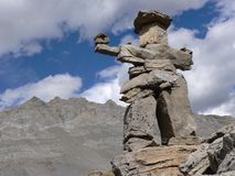 Small Inukshuk Stock Images