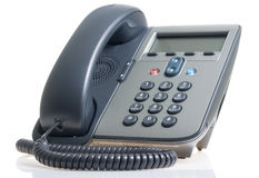 Small IP phone Stock Photo