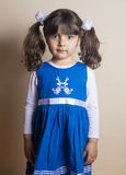 Small Iraqi girl Royalty Free Stock Photo