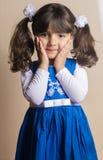 Small Iraqi girl Stock Images