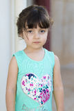 Small Iraqi girl Stock Images