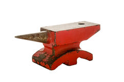 Small iron anvil Royalty Free Stock Photography