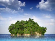 Small island Stock Image
