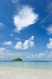 Small island. Near beach in Thailand stock photography