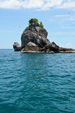 Small Island. A small island in the sea of Chumphon province, Thailand Stock Image