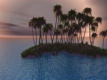 Small Island Royalty Free Stock Photo