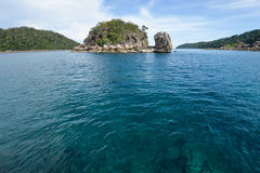 The small island of Andaman sea Stock Images