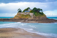 A small island in brittany Stock Image