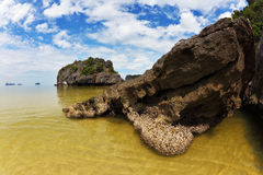 The small island in the Gulf of Thailand Stock Photography