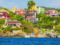Free Small Island In The Oslo Fjord, Norway Royalty Free Stock Images - 107063509