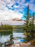 Small island in Lake Stock Image
