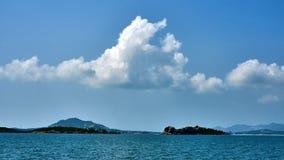 Small island near Koh Samui. In Thailand stock photos