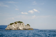 Small Island near Parga, Greece Stock Photo