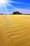 Small island near to  beach Stock Photo