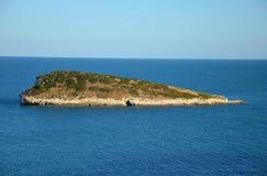 A small island off the coast of Gargano Stock Image