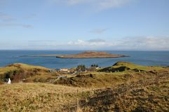 Small Island off the Isle of Skye. Stock Images