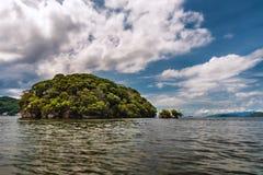 Small island off Trinidad and Tobago Stock Image
