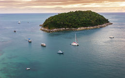 Small island in the sea near Phuket Royalty Free Stock Image