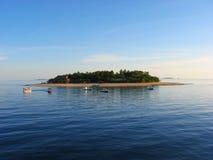Small island, Yasawa Islands, Fiji Royalty Free Stock Photography