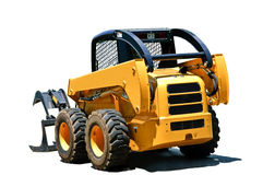 Small Isolated Tractor Loader stock photos