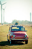 Small italian car Stock Photography