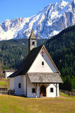 Small italian church. Stock Image