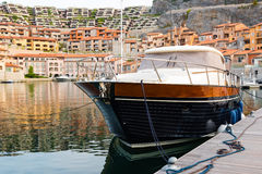Small italian marina Stock Photos