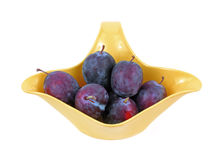 Small Italian Prune Plums Royalty Free Stock Photo