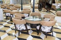 Small  italian restaurant Royalty Free Stock Photos