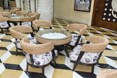 Small  italian restaurant Stock Images