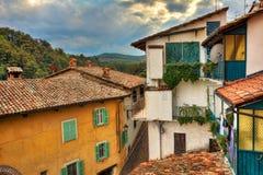 Small italian town. Barolo, Italy. Royalty Free Stock Image