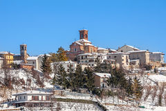 Small italian town. Stock Images