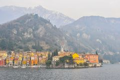 Small italian town Royalty Free Stock Photo