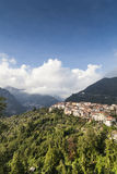 Small italian village Royalty Free Stock Image