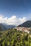 Small italian village Royalty Free Stock Image