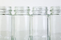 Small jam jars Stock Photos