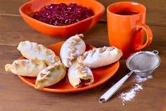 Small jam pies Royalty Free Stock Photo