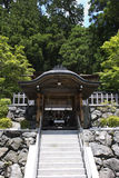 Small japanese altar on Mount Kōya Royalty Free Stock Photography