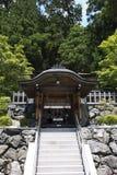 Small japanese altar on Mount Kōya Royalty Free Stock Photography
