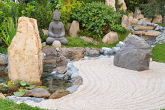Small Japanese Garden Royalty Free Stock Photos